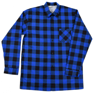 Koszula niebieska szachownica L