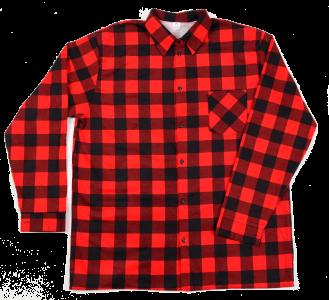 Koszula czerwona szachownica rozmiar L