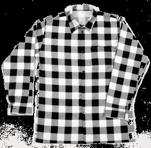 Koszula biała szachownica L