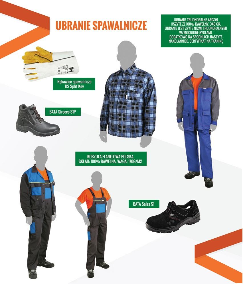 Ubrania spawalnicze BUKO